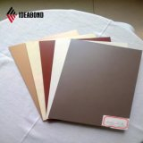 Comitato composito di alluminio di trattamento di superficie di Ideabond del lato differente del doppio