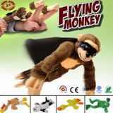 Flying Pelush Monkey Chicken Animal Jouet drôle drôle