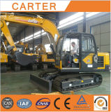 Excavador de múltiples funciones caliente de la retroexcavadora de las ventas CT85-8b (Yanmar engine&8.5t)
