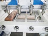 Gravador de borracha da estaca do router elevado quente do CNC de Spped da venda