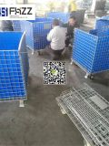 Las ventas de almacenamiento Workhouse caliente fábrica de cajas/jaulas de malla de alambre
