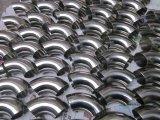 ステンレス鋼は90度を肘で突く