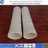 Sacchetto filtro non tessuto del collettore di polveri di PPS per la pianta di forza idroelettrica