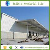 China prefabricó los edificios prefabricados de Metale de la vertiente del almacén de la estructura del marco de acero