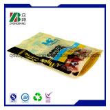 Saco de plástico de pé do malote para o saco do alimento de animal de estimação