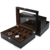 طلاء لّك دقيقة مسطّحة [ستورج بوإكس] خشبيّة لأنّ مجوهرات