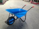Курган колеса тачки Wb5009 Ruuber тележки инструмента сада