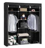 De moderne Eenvoudige Stof die van het Huishouden van de Garderobe de Eenvoudige Garderobe van de Combinatie van de Versterking van de Grootte van de Koning van de Assemblage van de Opslag van de Afdeling van de Doek (fw-35G) vouwt