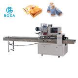 Embalaje automático del flujo de la empaquetadora de la torta grande del pan del Baguette