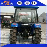 Трактор фермы поля падиа с колесами более высокой воды