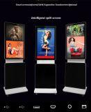 65 affichage à cristaux liquides tout de Blueooth de WiFi de résolution de pouce 4K dans un PC TV avec le joueur de publicité multiple de contact infrarouge