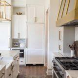 Projet personnalisé d'usine de l'Australie (par armoire de cuisine moderne-18-L23)