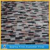 Красный/черный/белый кварцевый культуры камня для монтажа на стену оболочка