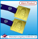 Les militaires de sport de médaillon de médaille en métal de médaille d'or de Kazakhstan attribuent la médaille