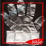 Wegwerf-LDPE/HDPE/CPE/PE Handschuh in gefaltetem 2PCS/Bag