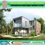 As HOME Prefab da casa do baixo custo, pré-fabricam a casa da construção de aço