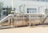 Industriële Automatische Ononderbroken Braadpan/Bradende Machine voor het Voorafgaan van Gebraden gerechten Frech