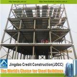 Immeuble à plusiers étages de fabrication en acier de structure