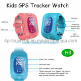 SIM 카드 구멍과 Sos 단추 H3를 가진 GPS 추적자 시계가 2g에 의하여 농담을 한다