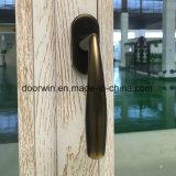 Alluminio termico della rottura con la finestra di legno di inclinazione e di girata del rivestimento