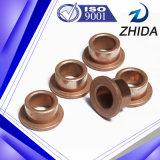 Coussinet en bronze fritté personnalisé de haute précision pour mettre en marche le moteur