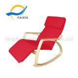 Cadeira de balanço de madeira Home da mobília com frame do metal