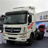Beiben 6X4 380HP 10 pour moteur Diesel tracteur à roues chariot remorque