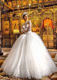 Мантия венчания платья венчания Ballgown длинней втулки Bridal (BH006)