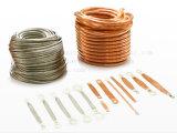 柔らかい接続、伝導性テープ、銅の編みこみのライン、銅のコンダクター