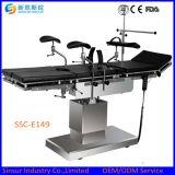 Tavolo operatorio elettrico chirurgico della strumentazione multiuso competitiva dell'ospedale