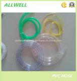 Boyau de niveau flexible clair transparent en plastique de conduite d'eau de PVC
