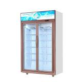 Долговечные в вертикальном положении на дисплее в коммерческих целях холодильник, Охладитель для напитков Merchandiser холодильник