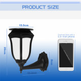 Qualitäts-Solarbewegungs-Fühler-Flamme-Lampe für Hof-Patio-Beleuchtung