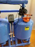 Irrigaration 물 2 실린더 20 인치 모래 매체 여과 시스템 뒤 내뿜는 물 모래 필터