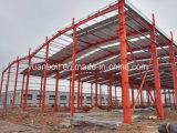 Qualité d'approvisionnement et immeuble de bureau en acier d'atelier d'entrepôt de niveau élevé