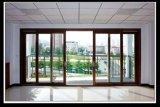 Puerta de aluminio de la marca de fábrica 6063t5 de Yl para la puerta deslizante con el vidrio grande