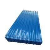 Cor Prepainted revestido a folha de aço do telhado de papelão ondulado para materiais de cobertura