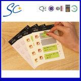 Cartão de educação impressos para as crianças ou os alunos