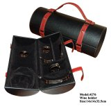 Unità di elaborazione Leather Wine Bottle con Accessories Packing Caso (4276R2)