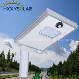 8W de LEIDENE ZonneVerlichting van de Straat met Sensor PIR