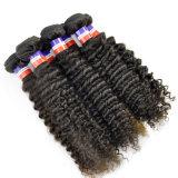 Estensioni ricce crespe filippine dei capelli del Virgin del grado 9A dei capelli del Virgin dei capelli umani di 100%