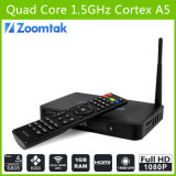 최고 Quad Core 텔레비젼 Box T5 Amlogics805 Quad Core Support 3D 1080P HD Sex Pron 텔레비젼 Box