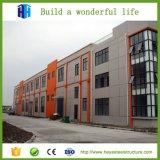 Marco de edificio prefabricado de la estructura de acero vertido para el supermercado