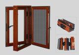Rostfreies Fliegen-Netz Aluminium-Belüftung-Fenster für Landhäuser mit dreifachem isolierendem Glas