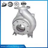 Boîtier de pompe de bâti de résine de fonte grise avec le service de usinage
