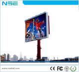 La publicité P10 de service avant l'installation fixe LED affichage sur le mur vidéo de plein air