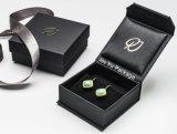 Excelente personalizada cuero Fábrica Artesanal de joyas Paepr Embalaje