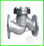 Тип задерживающий клапан подъема нержавеющей стали