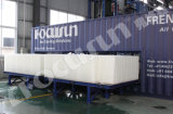 Máquina de gelo de bloco de contentores com processamento de alimentos / indústria da pesca