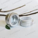 алюминиевый косметический Cream опарник 150g с крышкой окна